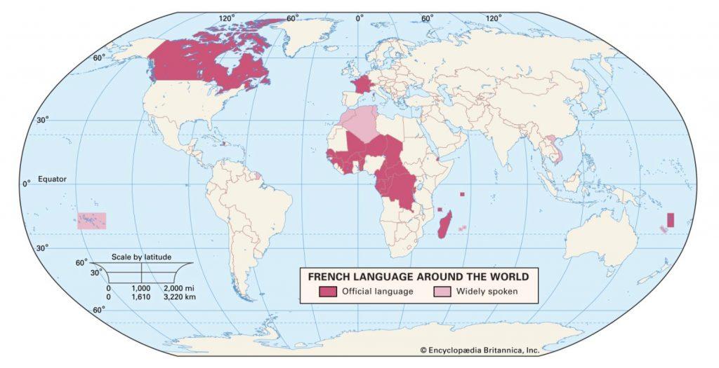 Franse taalgebieden