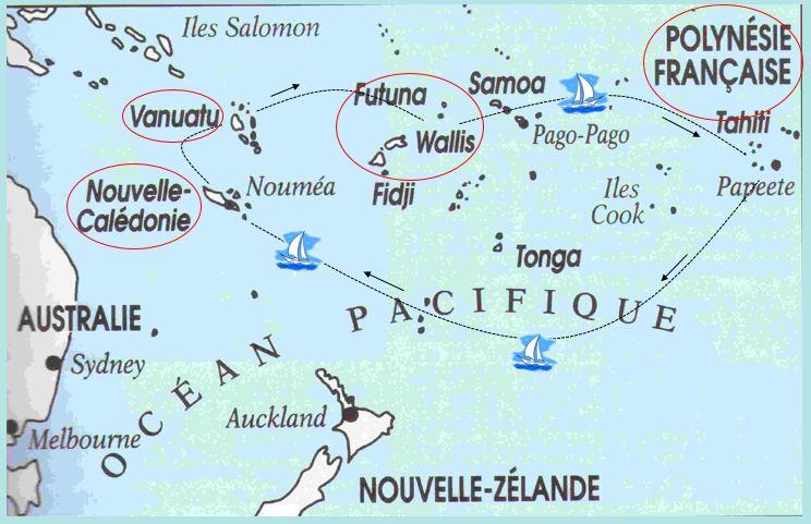 Franstalig Oceanië